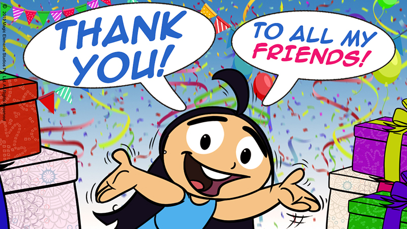 Thank You from Tibu Comics